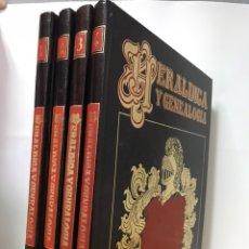 Enciclopedias de segunda mano: ENCICLOPEDIA HERÁLDICA. Lote 160856792