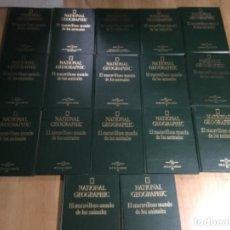Enciclopedias de segunda mano - 17 Tomos NATIONAL GEOGRAPHIC ,El maravilloso mundo de los animales - 161071650