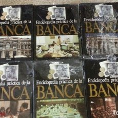 Enciclopedias de segunda mano: ENCICLOPEDIA PRACTICA DE LA BANCA - 6 TOMOS - (4 CON RESTOS DEL PRECINTADOS - NUEVO - SIN USO). Lote 120352511