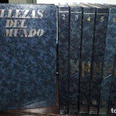 Enciclopedias de segunda mano: BELLEZAS DEL MUNDO TOMOS DEL 1 AL 8 + GUÍA PRÁCTICA. ED. LAROUSSE/SEDMAY. MADRID 1978. Lote 161646426