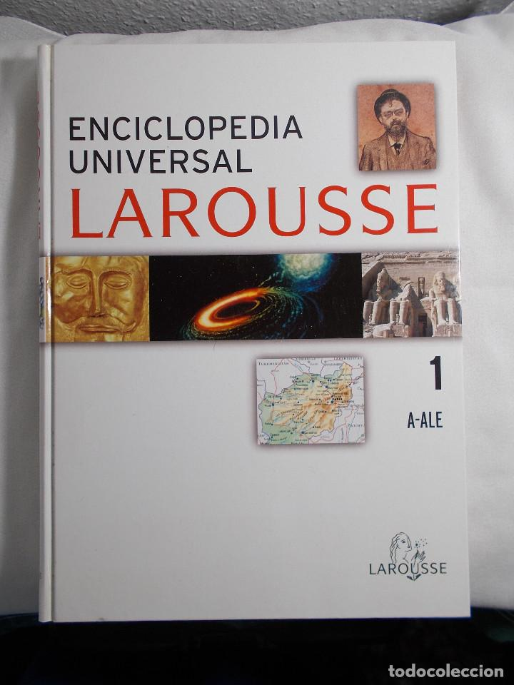 ENCICLOPEDIA UNIVERSAL LAROUSSE 1 A-ALE EDICIÓN RBA COLECCIONABLES, S.A. 2006 (Libros de Segunda Mano - Enciclopedias)