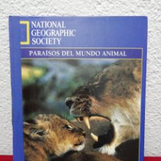 Enciclopedias de segunda mano: PARAÍSOS DEL MUNDO ANIMAL NATIONAL GEOGRAPHIC SOCIETY. LA VANGUARDIA.. Lote 161977628