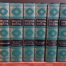 Enciclopedias de segunda mano: HISTORIA DE ESPAÑA DE CLUB INTERNACIONAL DEL LIBRO - COMPLETA 10 TOMOS - ARM04. Lote 162311866
