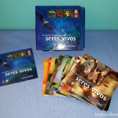Enciclopedias de segunda mano: COLECCION COMPLETA DE LA VANGUARDIA ENCICLOPEDIA SERES VIVOS 14 CD-ROM ORIGINAL. Lote 162598482