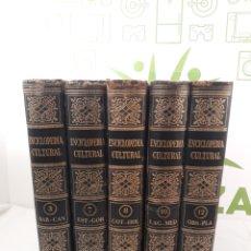 Enciclopedias de segunda mano: ENCICLOPEDIA CULTURAL UTEHA. 5 TOMOS.INCOMPLETA.. Lote 162618060