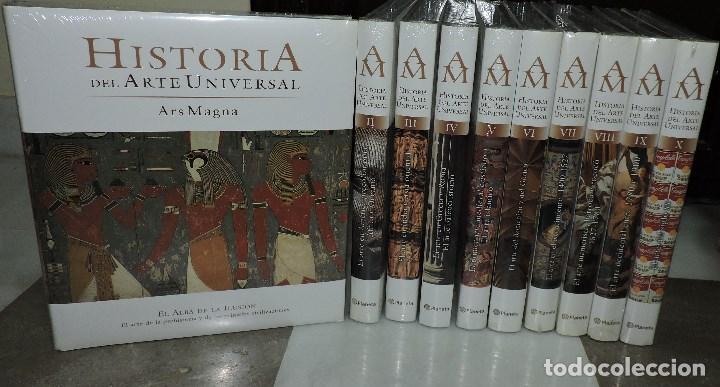 HISTORIA DEL ARTE UNIVERSAL. ARS MAGNA TOMOS DEL 1 AL 10 TOTALMENTE NUEVOS. ED. PLANETA (Libros de Segunda Mano - Enciclopedias)