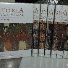 Enciclopedias de segunda mano: HISTORIA DEL ARTE UNIVERSAL. ARS MAGNA TOMOS DEL 1 AL 10 TOTALMENTE NUEVOS. ED. PLANETA. Lote 162700978