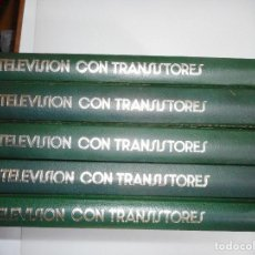 Enciclopedias de segunda mano: TELEVISIÓN CON TRANSISTORES(5 TOMOS) Y93922. Lote 162705786