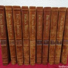 Enciclopedias de segunda mano: ENCICLOPEDIA FAUNA IBÉRICA. EL HOMBRE Y LA TIERRA. FELIX RODRÍGUEZ DE LA FUENTE. SALVAT.. Lote 163009076