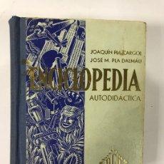 Enciclopedias de segunda mano: ENCICLOPEDIA AUTODIDACTICA. Lote 163095744
