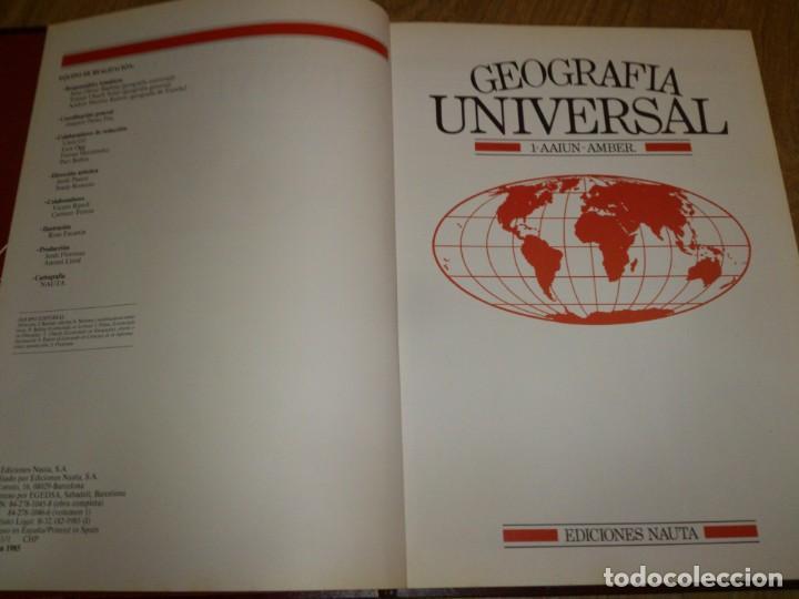 ENCICLOPEDIA DE GEOGRAFÍA UNIVERSAL (Libros de Segunda Mano - Enciclopedias)