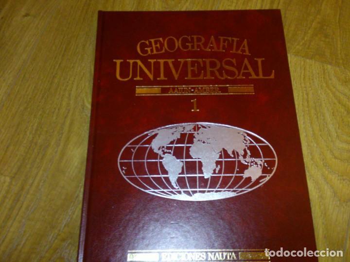 Enciclopedias de segunda mano: Enciclopedia de Geografía Universal - Foto 2 - 165051390