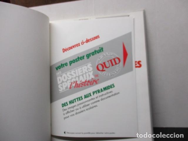 Enciclopedias de segunda mano: Les Dossiers Speciaux du Des Huttes Aux Pyramides - Grand Quid Illustre - (en Frances) - Como NUEVO - Foto 2 - 165274622