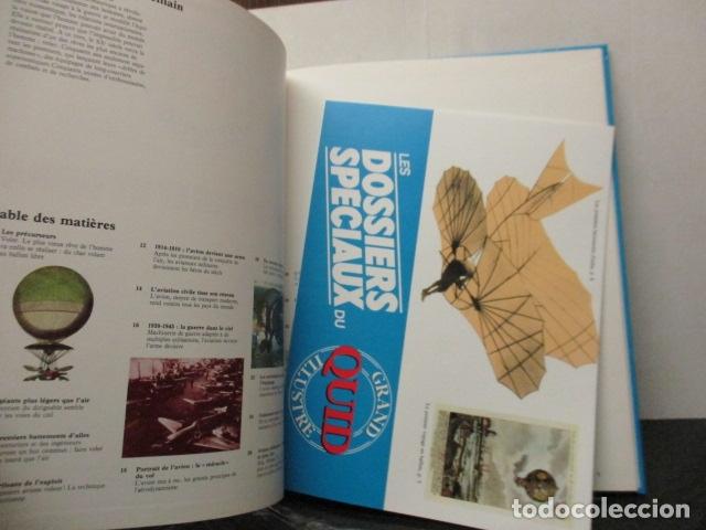 Enciclopedias de segunda mano: Les Dossiers Speciaux du Avions dHier et de Demain - Grand Quid Illustre - (en Frances) Como Nuevo - Foto 2 - 165274698