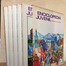 Enciclopedias de segunda mano: ENCICLOPEDIA JUVENIL MOLINO EN COLOR (5 TOMOS EN ESTUCHE, COMPLETA) - 1972 - PRECIOSA. Lote 165466190