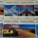 Enciclopedias de segunda mano: GEOGRAFÍA UNIVERSAL - 8 TOMOS - INSTITUTO GALLACH - AÑO 1997. Lote 165513082