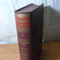 Enciclopedias de segunda mano: ENCICLOPEDIA LABOR - TOMO 9 - LA SOCIEDAD / EL PENSAMIENTO / DIOS. Lote 165638350