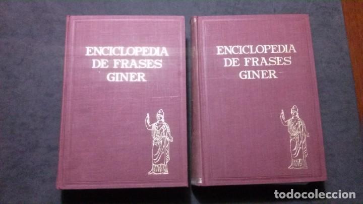 Enciclopedia De Frases Célebres Giner 1967 Dedi Vendido En