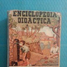 Enciclopedias de segunda mano: ANTIGUA ENCICLOPEDIA DIDÁCTICA AÑOS 50 PERIODO ELEMENTAL CICLO SEGUNDO EDICIONES SELECCIÓN. Lote 166913268