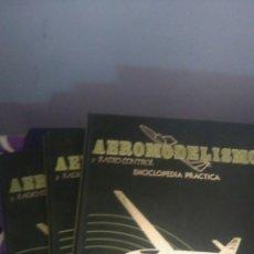 Libri di seconda mano: AEROMODELISMO Y RADIO CONTROL. ENCICLOPEDIA PRÁCTICA.COMPLETA. 3 TOMOS. HOP. EDITA HOBBY PRESS, S.A.. Lote 166914149