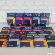 Enciclopedias de segunda mano: BIBLIOTECA PERUANA. POESIA, CUENTOS, ENSAYOS, DICCIONARIO, VIAJES. INCA GARCILASO, A. SALAZAR BONDY.. Lote 166914732