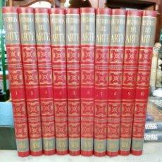 Enciclopedias de segunda mano: HISTORIA DEL ARTE SALVAT 1973 OBRA COMPLETA 10 TOMOS. Lote 166981360