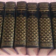 Enciclopedias de segunda mano: DICCIONARIO ENCICLOPÉDICO ABREVIADO, 8 VOLÚMENES, COMPLETO (ESPASA CALPE, 1957) // LAROUSSE / SALVAT. Lote 167418084