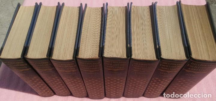 Enciclopedias de segunda mano: Diccionario Enciclopédico Abreviado, 8 Volúmenes, Completo (Espasa Calpe, 1957) // LAROUSSE / SALVAT - Foto 2 - 167418084