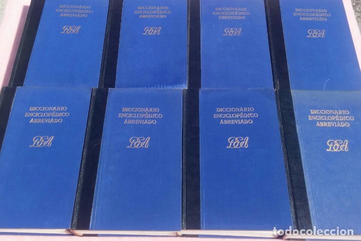 Enciclopedias de segunda mano: Diccionario Enciclopédico Abreviado, 8 Volúmenes, Completo (Espasa Calpe, 1957) // LAROUSSE / SALVAT - Foto 5 - 167418084