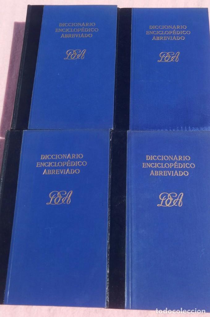 Enciclopedias de segunda mano: Diccionario Enciclopédico Abreviado, 8 Volúmenes, Completo (Espasa Calpe, 1957) // LAROUSSE / SALVAT - Foto 7 - 167418084