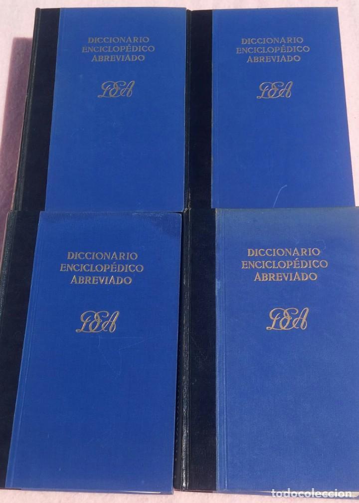 Enciclopedias de segunda mano: Diccionario Enciclopédico Abreviado, 8 Volúmenes, Completo (Espasa Calpe, 1957) // LAROUSSE / SALVAT - Foto 8 - 167418084