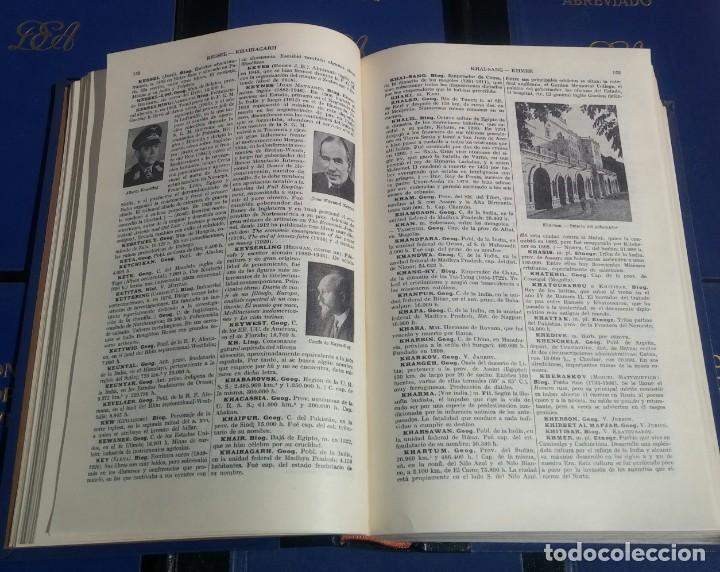 Enciclopedias de segunda mano: Diccionario Enciclopédico Abreviado, 8 Volúmenes, Completo (Espasa Calpe, 1957) // LAROUSSE / SALVAT - Foto 10 - 167418084