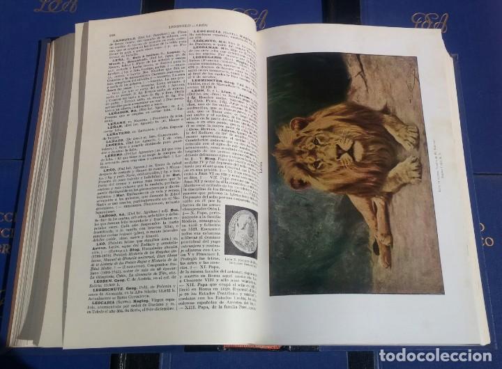Enciclopedias de segunda mano: Diccionario Enciclopédico Abreviado, 8 Volúmenes, Completo (Espasa Calpe, 1957) // LAROUSSE / SALVAT - Foto 11 - 167418084