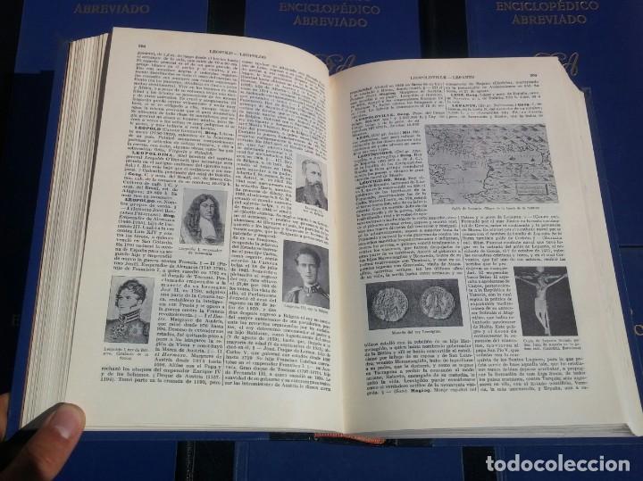 Enciclopedias de segunda mano: Diccionario Enciclopédico Abreviado, 8 Volúmenes, Completo (Espasa Calpe, 1957) // LAROUSSE / SALVAT - Foto 12 - 167418084