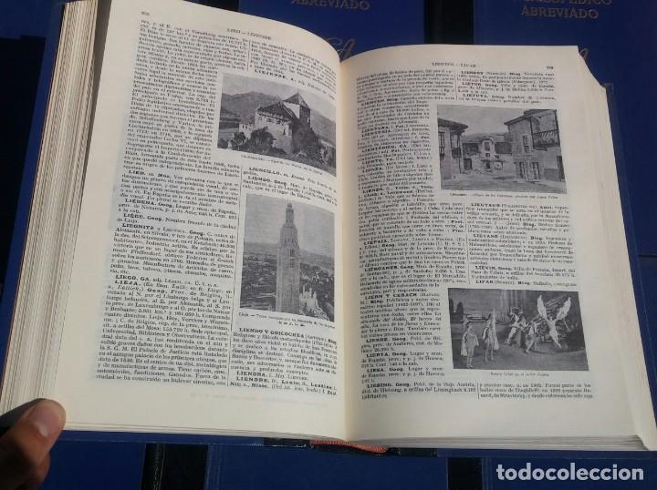 Enciclopedias de segunda mano: Diccionario Enciclopédico Abreviado, 8 Volúmenes, Completo (Espasa Calpe, 1957) // LAROUSSE / SALVAT - Foto 13 - 167418084