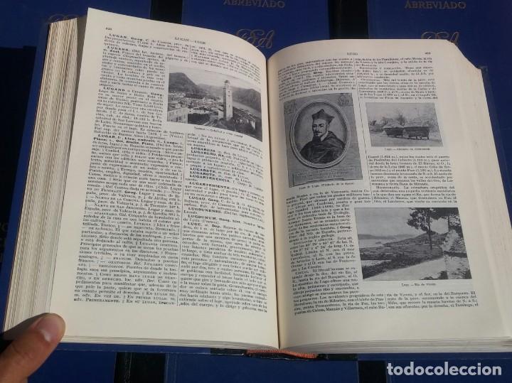 Enciclopedias de segunda mano: Diccionario Enciclopédico Abreviado, 8 Volúmenes, Completo (Espasa Calpe, 1957) // LAROUSSE / SALVAT - Foto 14 - 167418084