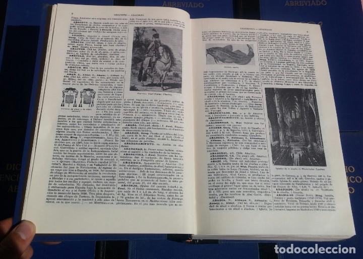 Enciclopedias de segunda mano: Diccionario Enciclopédico Abreviado, 8 Volúmenes, Completo (Espasa Calpe, 1957) // LAROUSSE / SALVAT - Foto 16 - 167418084