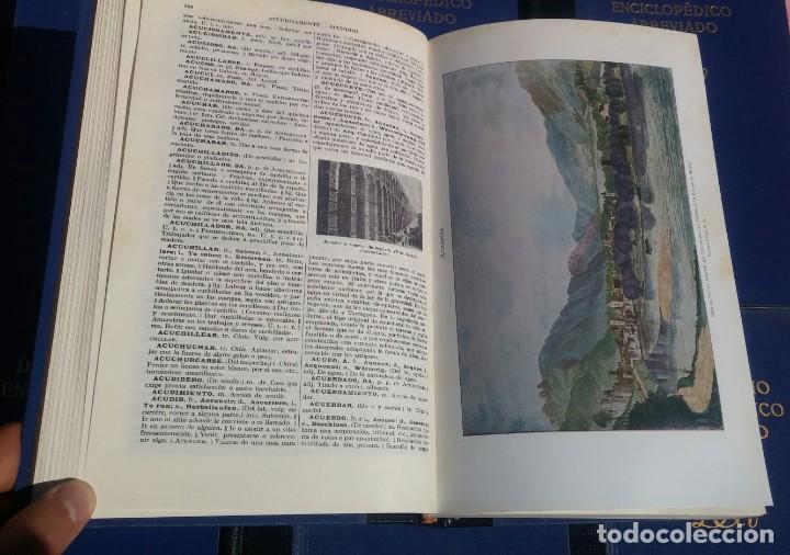 Enciclopedias de segunda mano: Diccionario Enciclopédico Abreviado, 8 Volúmenes, Completo (Espasa Calpe, 1957) // LAROUSSE / SALVAT - Foto 18 - 167418084