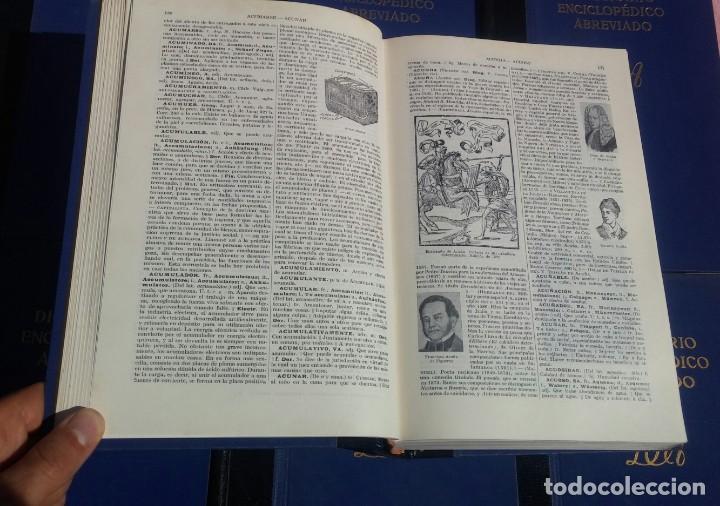 Enciclopedias de segunda mano: Diccionario Enciclopédico Abreviado, 8 Volúmenes, Completo (Espasa Calpe, 1957) // LAROUSSE / SALVAT - Foto 19 - 167418084