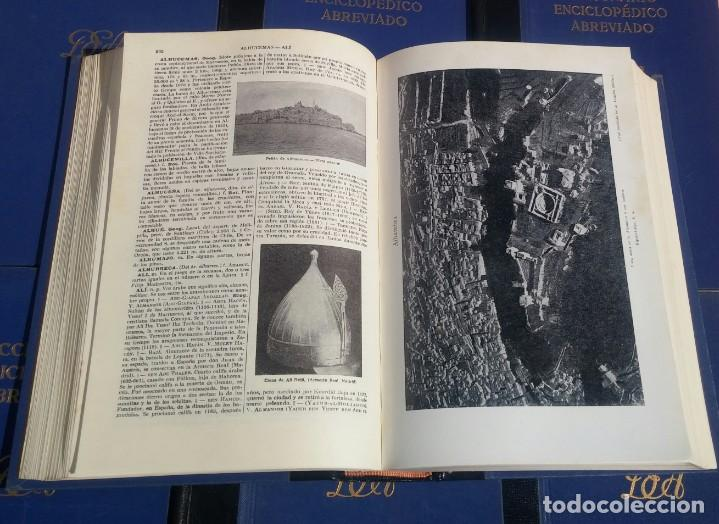 Enciclopedias de segunda mano: Diccionario Enciclopédico Abreviado, 8 Volúmenes, Completo (Espasa Calpe, 1957) // LAROUSSE / SALVAT - Foto 21 - 167418084