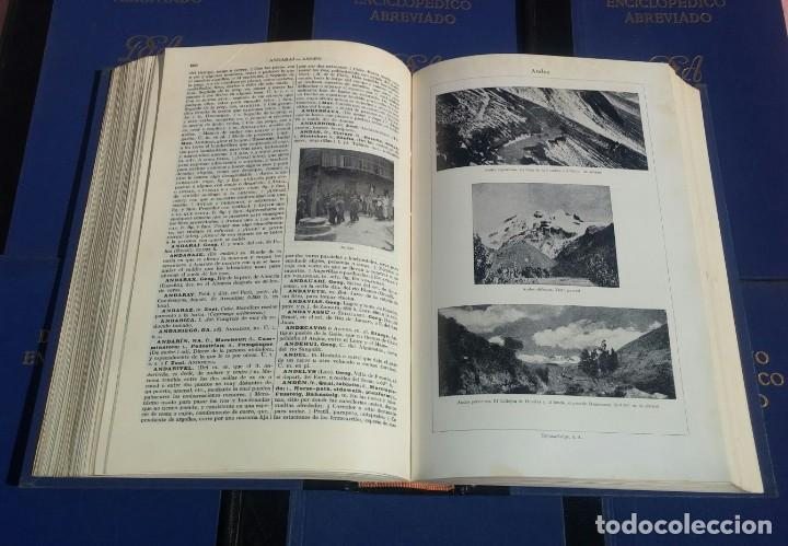 Enciclopedias de segunda mano: Diccionario Enciclopédico Abreviado, 8 Volúmenes, Completo (Espasa Calpe, 1957) // LAROUSSE / SALVAT - Foto 23 - 167418084