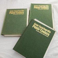 Enciclopedias de segunda mano: GRAN ENCICLOPEDIA PUNTO Y COSTURA. Lote 168383056