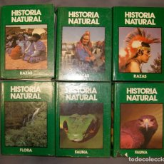 Enciclopedias de segunda mano: LOTE 6 ENCICLOPEDIA HISTORIA NATURAL DE CLUB INTERNACIONAL DEL LIBRO. Lote 168582820