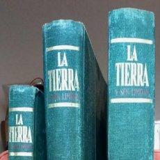 Enciclopedias de segunda mano: LA TIERRA Y SUS LIMITES. ENCILOPEDIA SALVAT EN 3 TOMOS. Lote 168758220