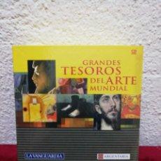 Enciclopedias de segunda mano: GRANDES TESOROS DEL ARTE MUNDIAL. LA VANGUARDIA. 12 CD-ROMS, GUÍA DE USUARIO Y ARCHIVADOR. Lote 168934534