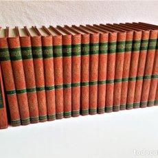 Enciclopedias de segunda mano: PRECIOSA ENCICLOPEDIA UNIVERSITAS. SALVAT 1961 - 20 TOMOS - 20X26.CM. Lote 168967192