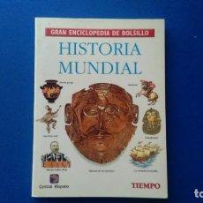 Enciclopedias de segunda mano: HISTORIA MUNDIAL. GRAN ENCICLOPEDIA DE BOLSILLO Nº 9. TIEMPO.. Lote 169024188