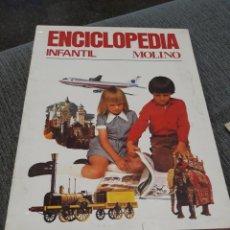 Enciclopedias de segunda mano: ENCICLOPEDIA INFANTIL MOLINO - 1974, 3 TOMOS CON CAJA ESTUCHE. Lote 169318096