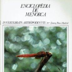 Enciclopedias de segunda mano: ENCICLOPÈDIA DE MENORCA.INVERTEBRATS ARTRÒPODES (VII), LLORENÇ PONS I MADRID. AÑO 1979.(MENORCA.1.5). Lote 170949145