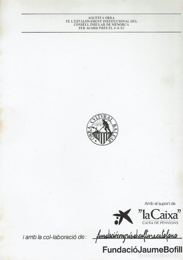 Enciclopedias de segunda mano: ECOLOGIA MARINA (II), PER X. JANSÀ I CLAR. AÑO 1979. (MENORCA.6.8) - Foto 2 - 170949835